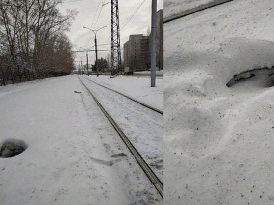 В Новосибирске мужчина провалился сквозь землю (и выбрался обратно)