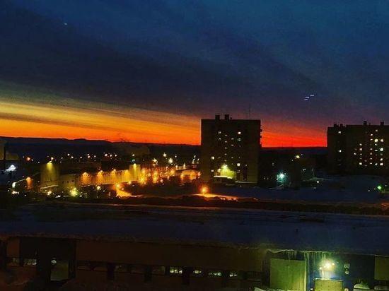 В Норильске началась полярная ночь: любуемся закатами и северным сиянием