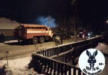 Соседи спасли обездвиженную пенсионерку из загоревшегося дома