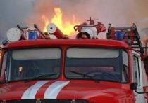 Ночью в Иванове загорелся гараж