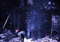 При пожаре жилого дома в Калужской области погиб 86-летний мужчина