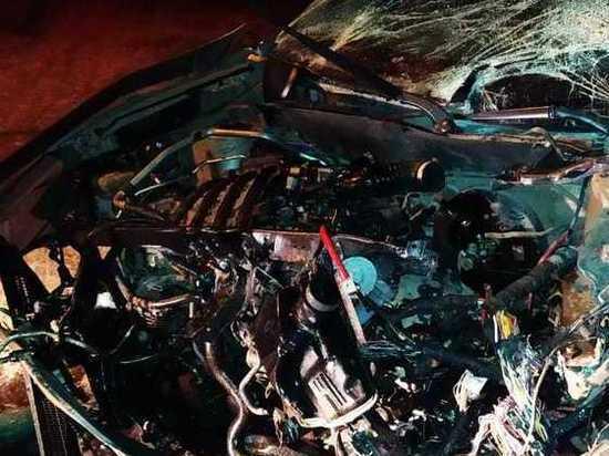 Двухлетняя девочка пострадала в аварии под Рязанью