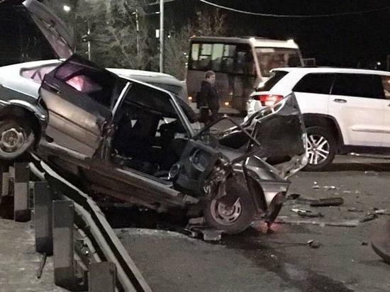 Пьяный водитель устроил ДТП в центре Рязани, четверо в больнице