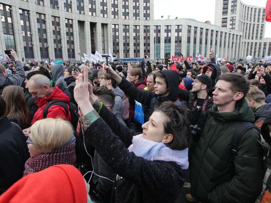 Россияне отказались протестовать против власти