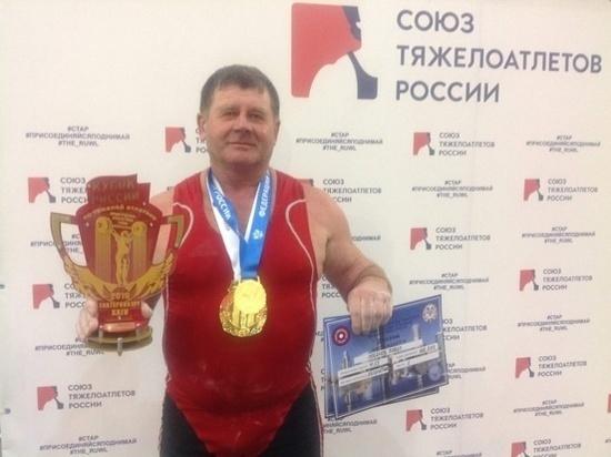 Спортсмен из Башкирии выиграл Кубок России по тяжелой атлетике