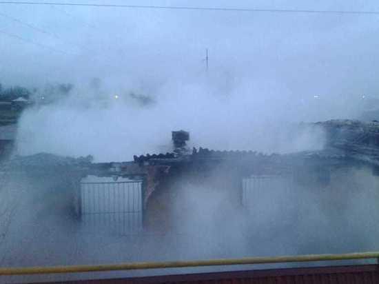 Два человека погибли при пожаре в Дагестане