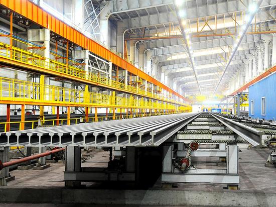 ЧМК поставил миллионную тонну рельсов для РЖД