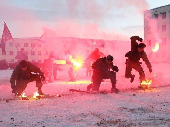 В Мурманской области появилась аллея героев морской пехоты