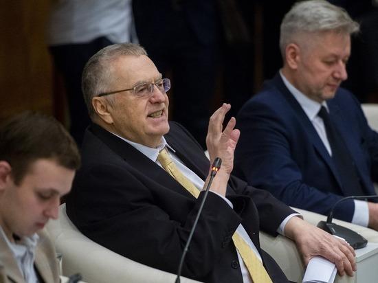 Жириновский признался в употреблении наркотиков