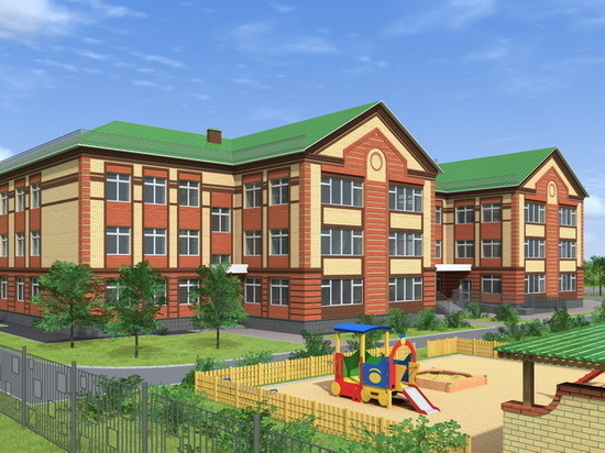 В заречной части Йошкар-Олы начато строительство детского сада