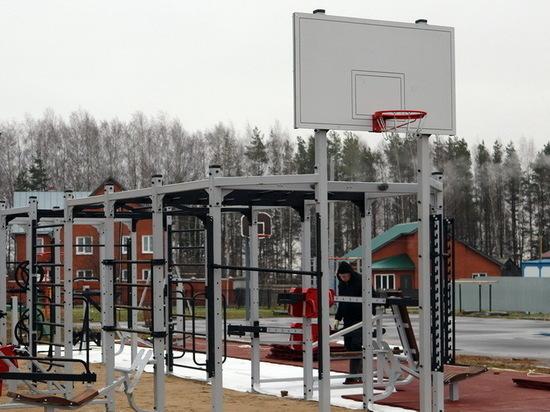В Горномарийском районе Марий Эл открывается спортплощадка
