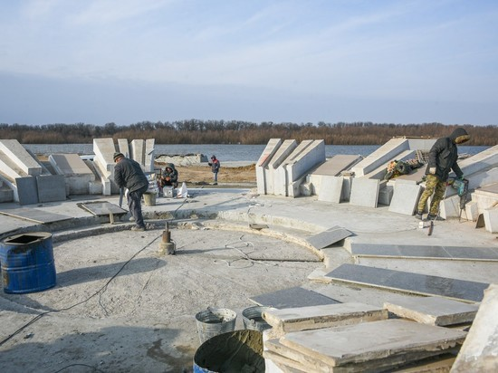 В Астраханской области появится амфитеатр около воды
