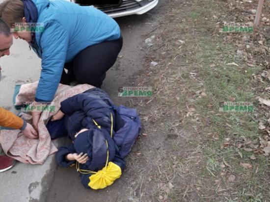 В Ростовской области водитель иномарки сбил ребенка
