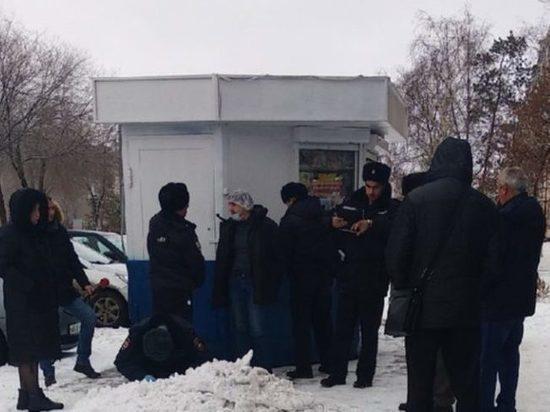 В Оренбурге на Туркестанской около банка задержали подозрительного мужчину