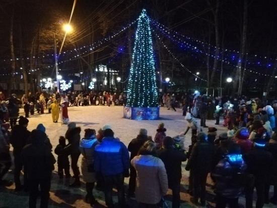 В Серпухове торжественно открыли зимний сезон