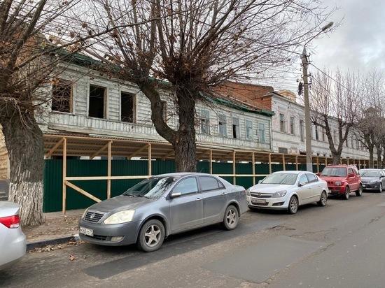 Дом-призрак на Пушкинской в Туле не снесли