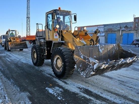 Улицы Магадана перекрывают из-за вывоза снега
