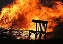 В Хакасии пожарные нашли останки человека на месте вызова