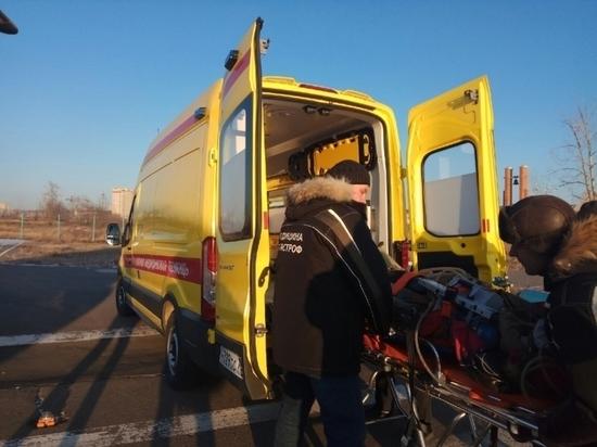 Санавиация доставила в Читу еще одну пострадавшую в ДТП под Сретенском