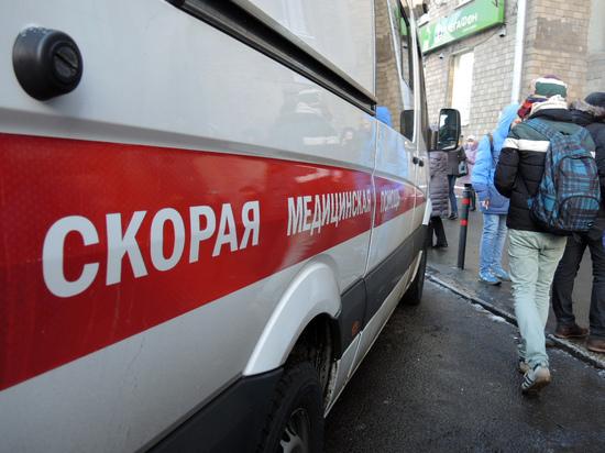 В Петербурге голая школьница упала на авто с 14-го этажа
