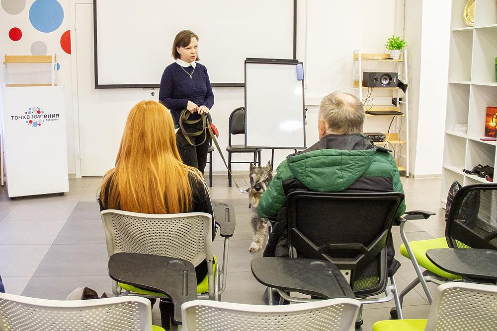 Школа зооволонтера в Хабаровске: как прошла первая лекция
