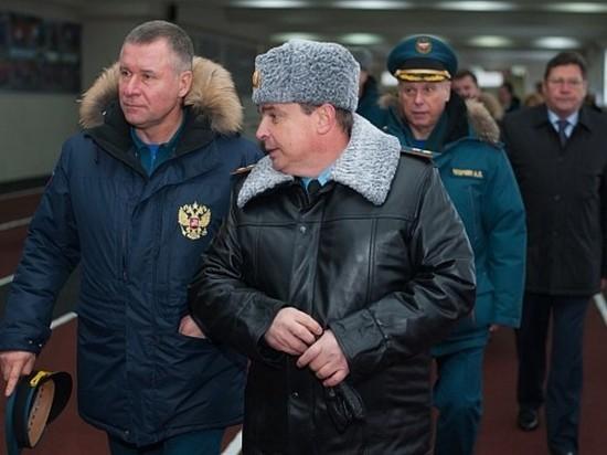 Министр по делам ГО и ЧС России посетил в Иванове недостроенный спорткомплекс