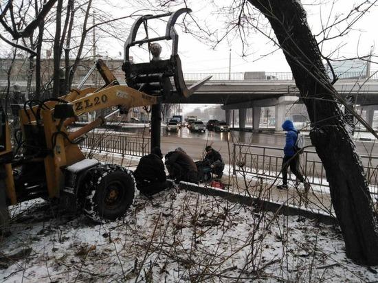 Забор в парке «Дубки» обещают починить 3 декабря
