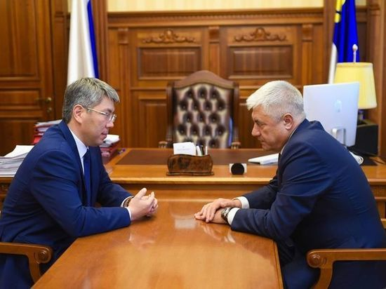 Глава Бурятии рассказал Владимиру Колокольцеву об уровне доверия к полиции