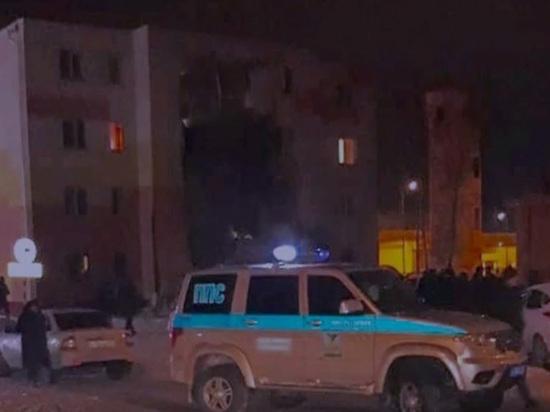 Взрыв вжилом доме вРоссии: появилось видео момента обрушения