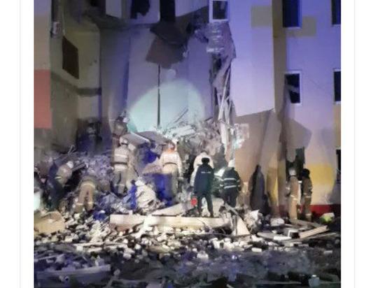 СКР проводит проверку после обрушения дома в Белгородской области