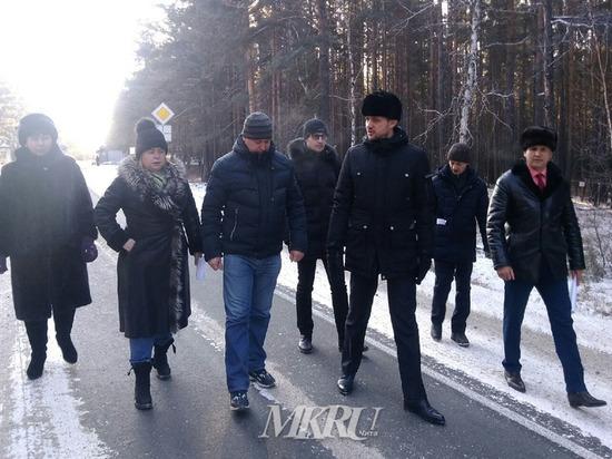 Осипов остался недоволен ремонтом дороги к Дровяной