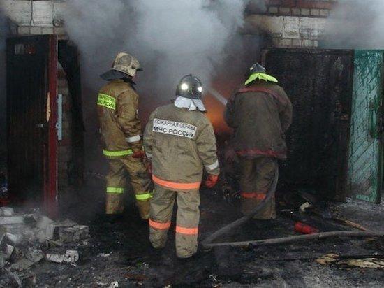 3 декабря в Кинешме сгорел гараж