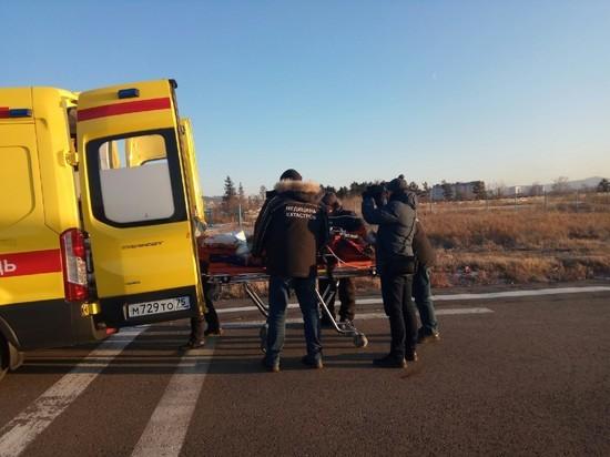 Ещё одного пострадавшего в ДТП с автобусом доставили в Читу из Шилки