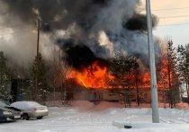 Спасатели вывели людей из горящего общежития в Муравленко