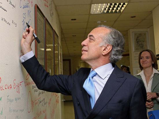 Посол Италии в России надеется на демонтаж режима санкций