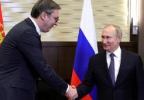 Приезд Александра Вучича идеально вписался в график военных совещаний, которые Владимир Путин с начала недели проводит в Сочи