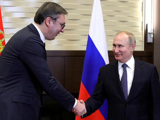 Путин поставил Болгарии ультиматум после встречи с президентом Сербии