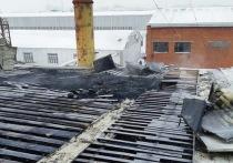 В городе Марий Эл пожарные потушили котельную