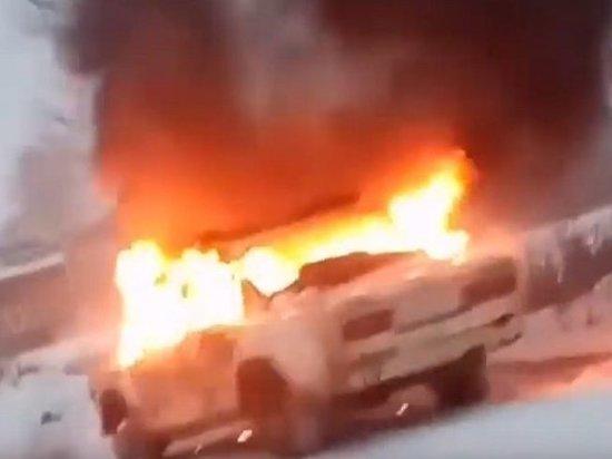 В Иркутске задержали подозреваемого в угоне и поджоге «Жигулей»