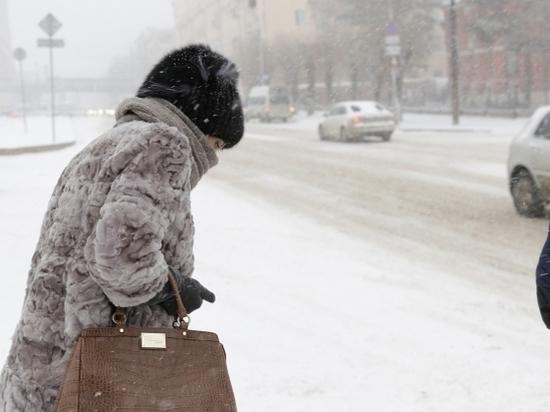 Синоптики обещают в Волгограде и области сильный ветер и мокрый снег