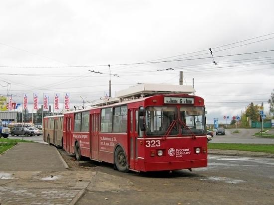 Из-за ремонтных работ в Иванове изменится маршрут троллейбуса №6