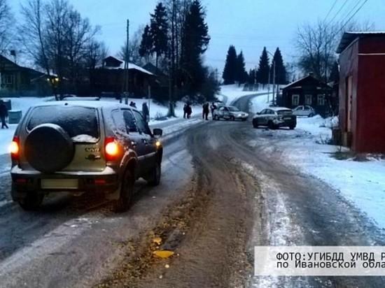 В Ивановской области произошло ДТП с участием трех автомобилей