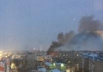 В районе кировского автовокзала горела машина