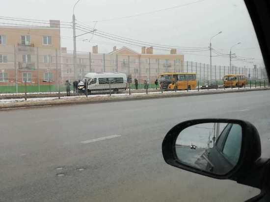 ДТП с маршруткой произошло в Калуге