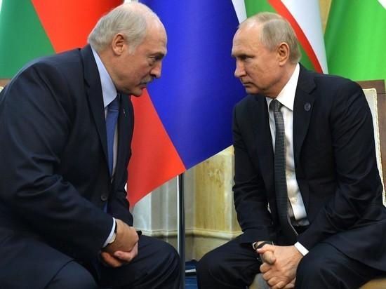 Лукашенко сообщил, что контролирует процесс «давления на Путина»