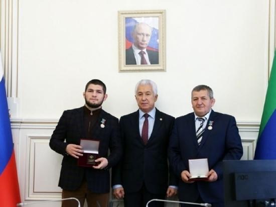 Хабиб получил орден «За заслуги перед Дагестаном» второй раз