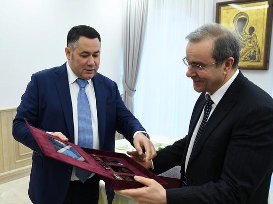 Игорь Руденя обсудил развитие Тверской области с экс-главой региона