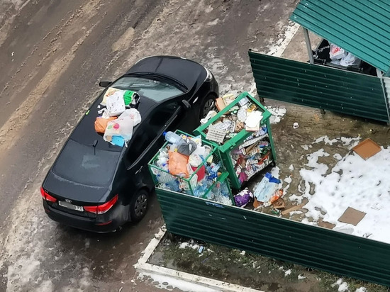 В Твери «корейца» засыпали мусором