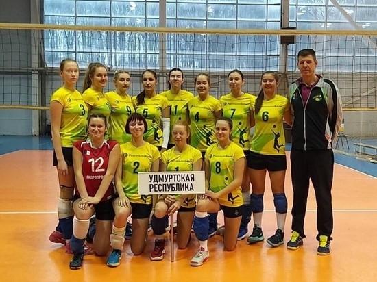 Удмуртская женская команда стала финалистом Первенства России по волейболу