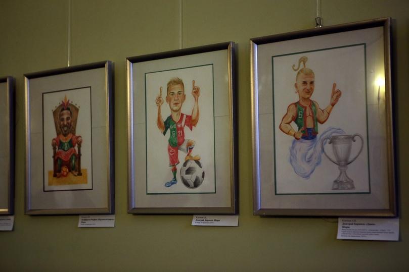 Полузащитника «Локомотива» нарисовали в образе Рэмбо